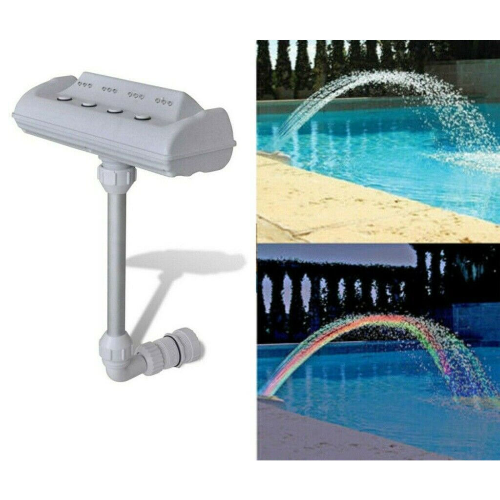 Picture of Swimming Pool Fountain with LED Lights