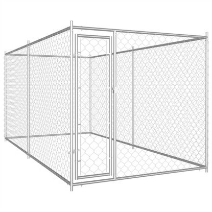 Picture of Outdoor Dog Kennel 12'