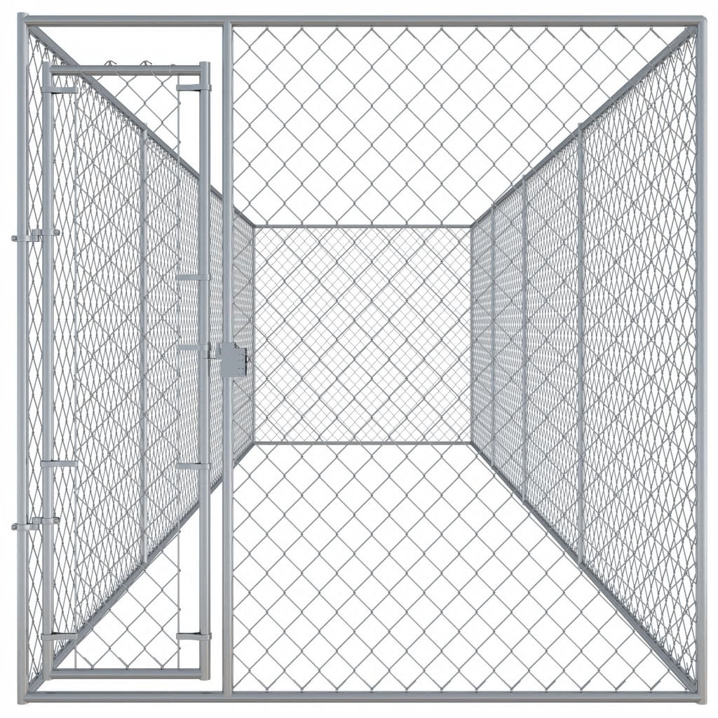 Picture of Outdoor Dog Kennel - 25'