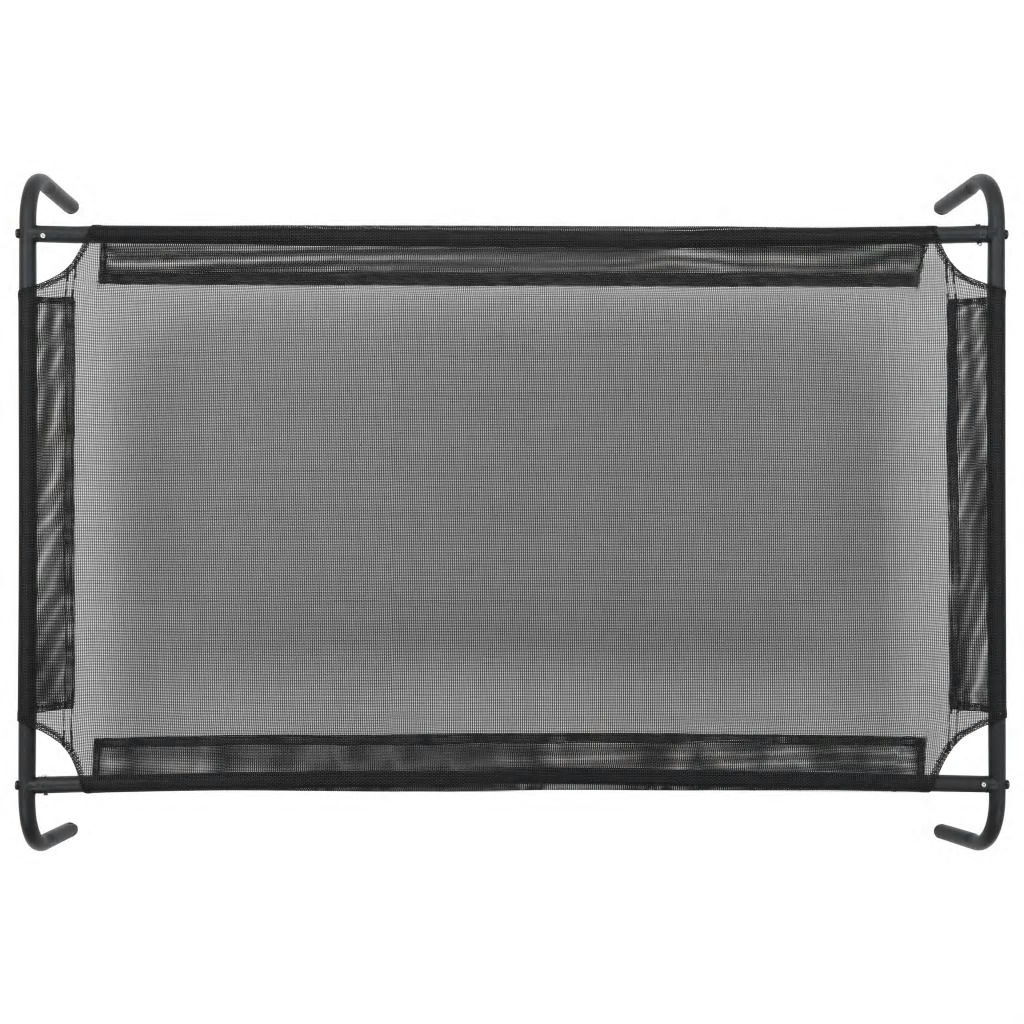 Picture of Elevated Dog Bed - Black Textilene