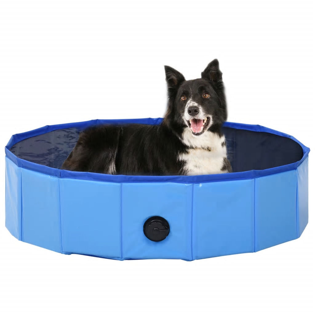 Picture of Foldable Dog Swimming Pool - Blue