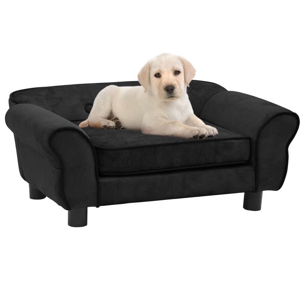 Picture of Dog Plush Sofa - Black